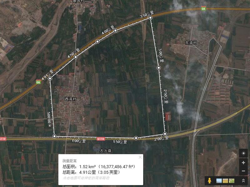 卫星实景图